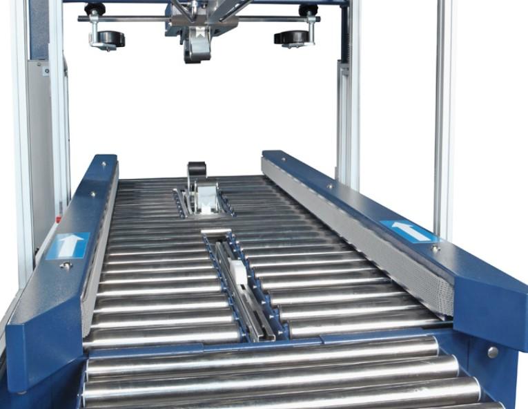 Motorized side conveyor belts
