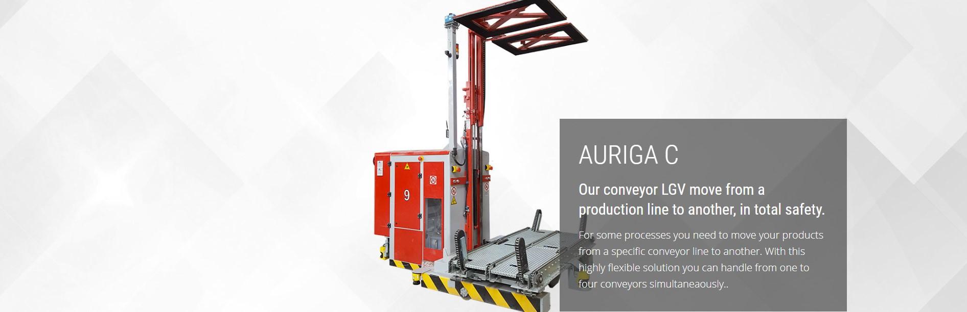Auriga C laser guided vehicle