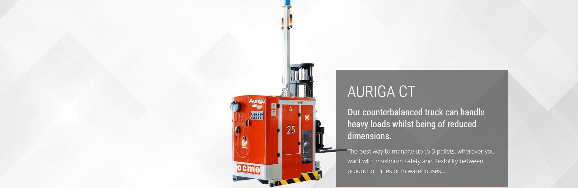 Auriga CT Laser Guided Vehicle