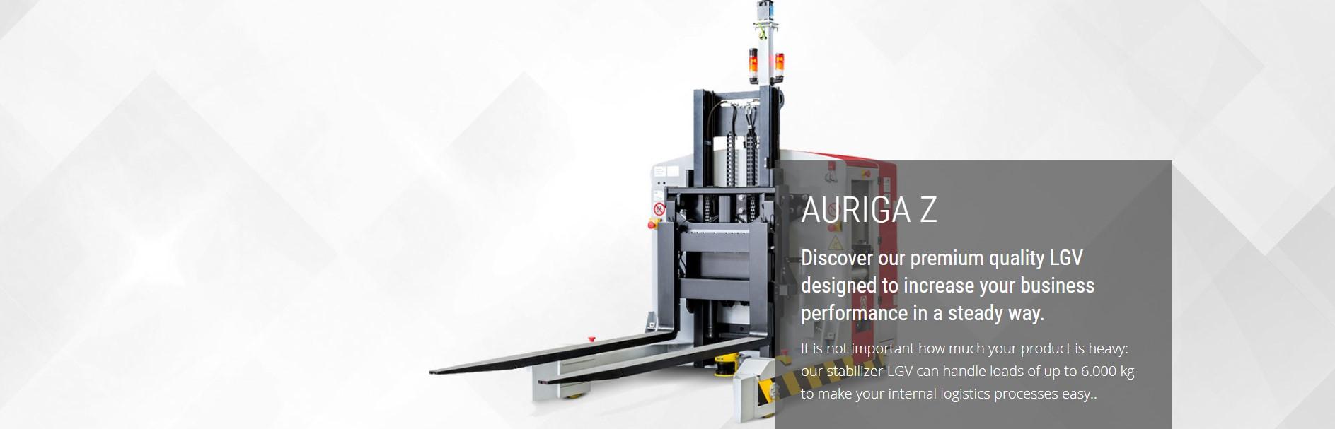 Auriga Z laser guided vehicle