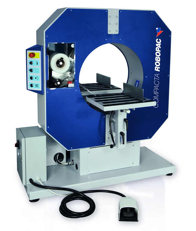 Compacta Series horizontal semi-automatic stretch wrappers
