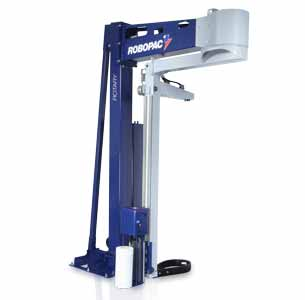 Rotary 708 rotating arm semi-automatic stretch wrapper