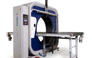 Orbit R horizontal semi-automatic stretch wrapper